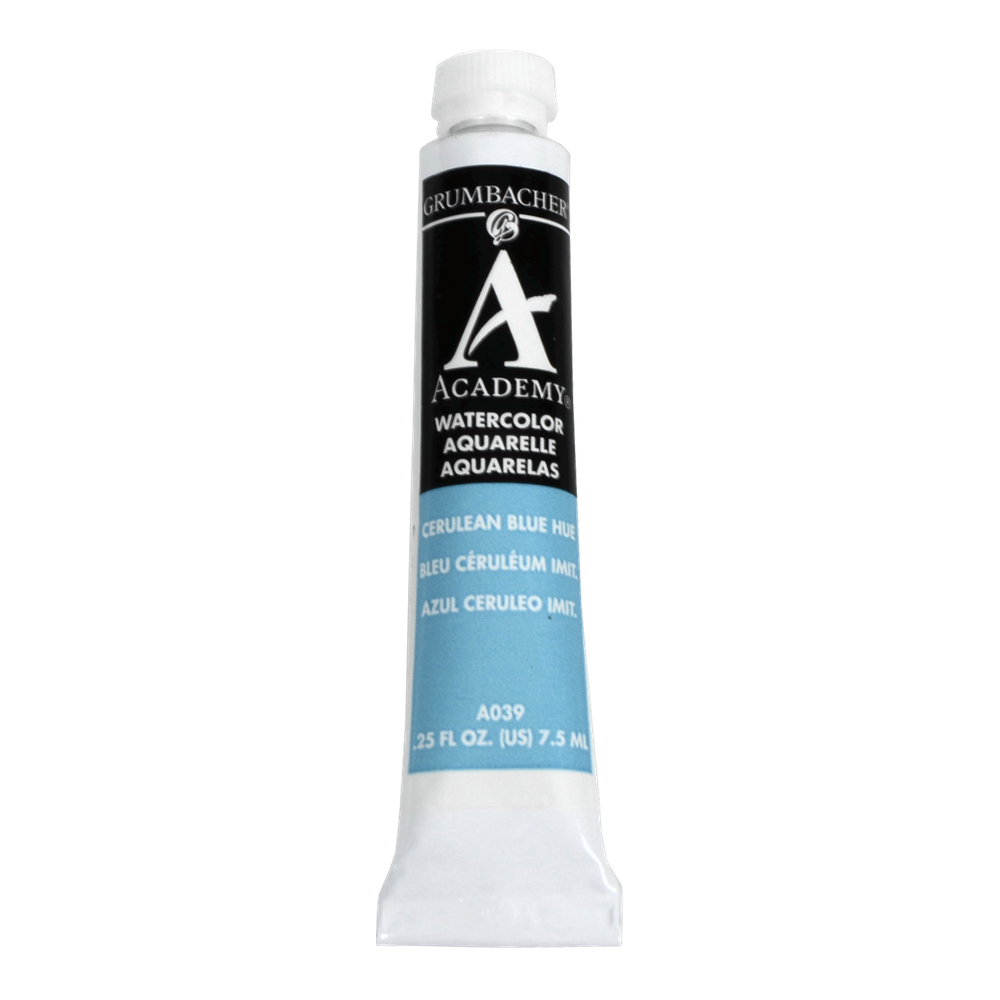 Academy Watercolor 7.5Ml Cerulean Blue