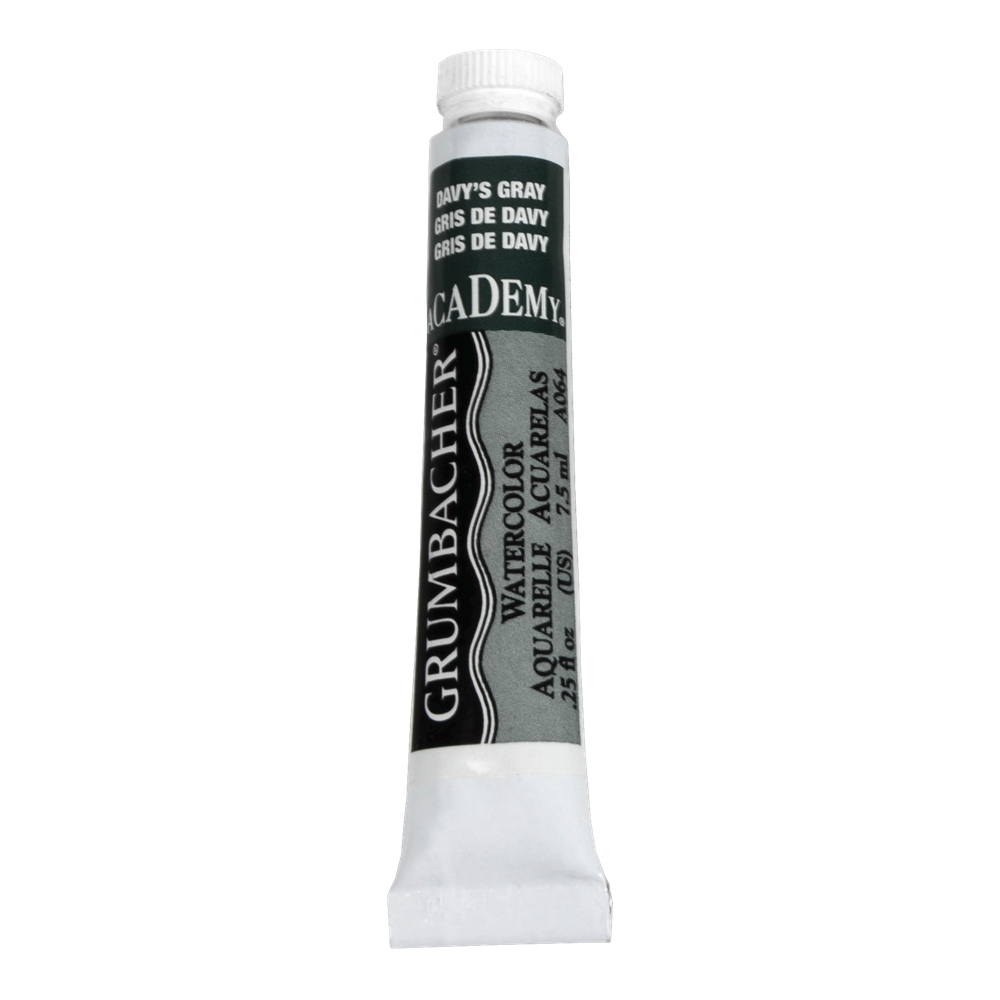 Academy Watercolor 7.5Ml Davys Gray