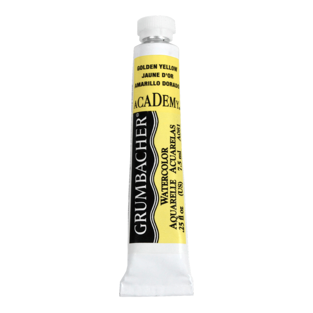Academy Watercolor 7.5Ml Golden Yellow