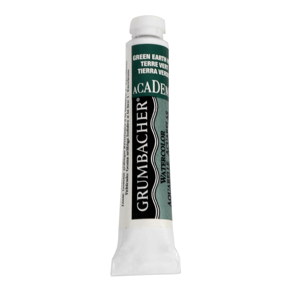 Academy Watercolor 7.5Ml Green Earth