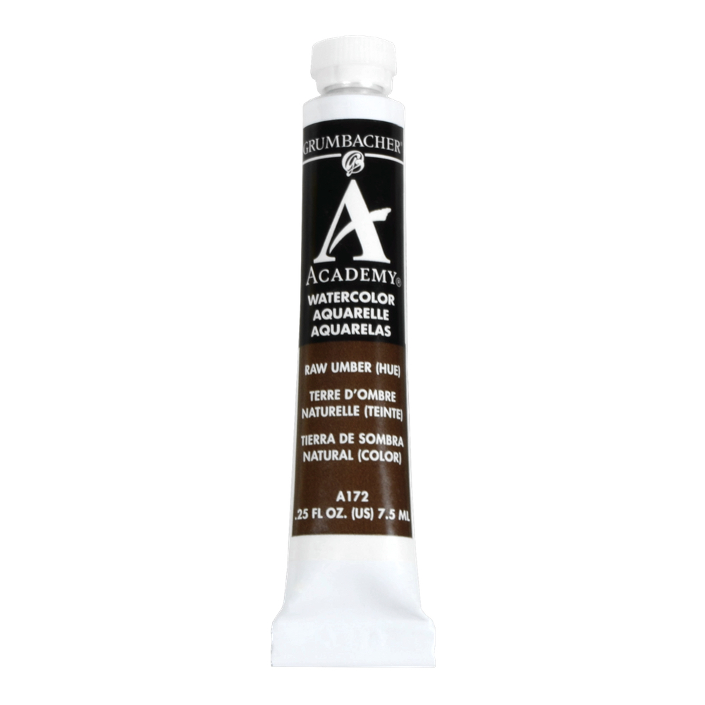 Academy Watercolor 7.5Ml Raw Umber