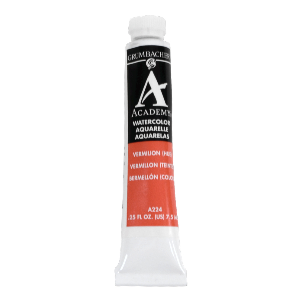 Academy Watercolor 7.5Ml Vermillion Hue