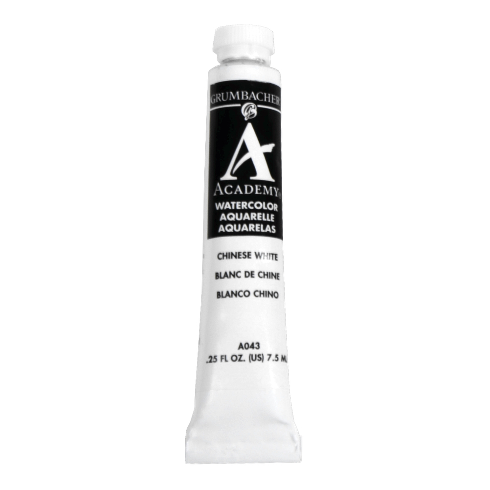 Academy Watercolor 7.5Ml Chinese White