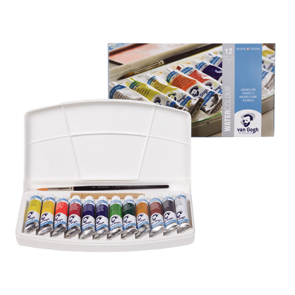 Van Gogh Watercolor 12 Tube Pocketbox