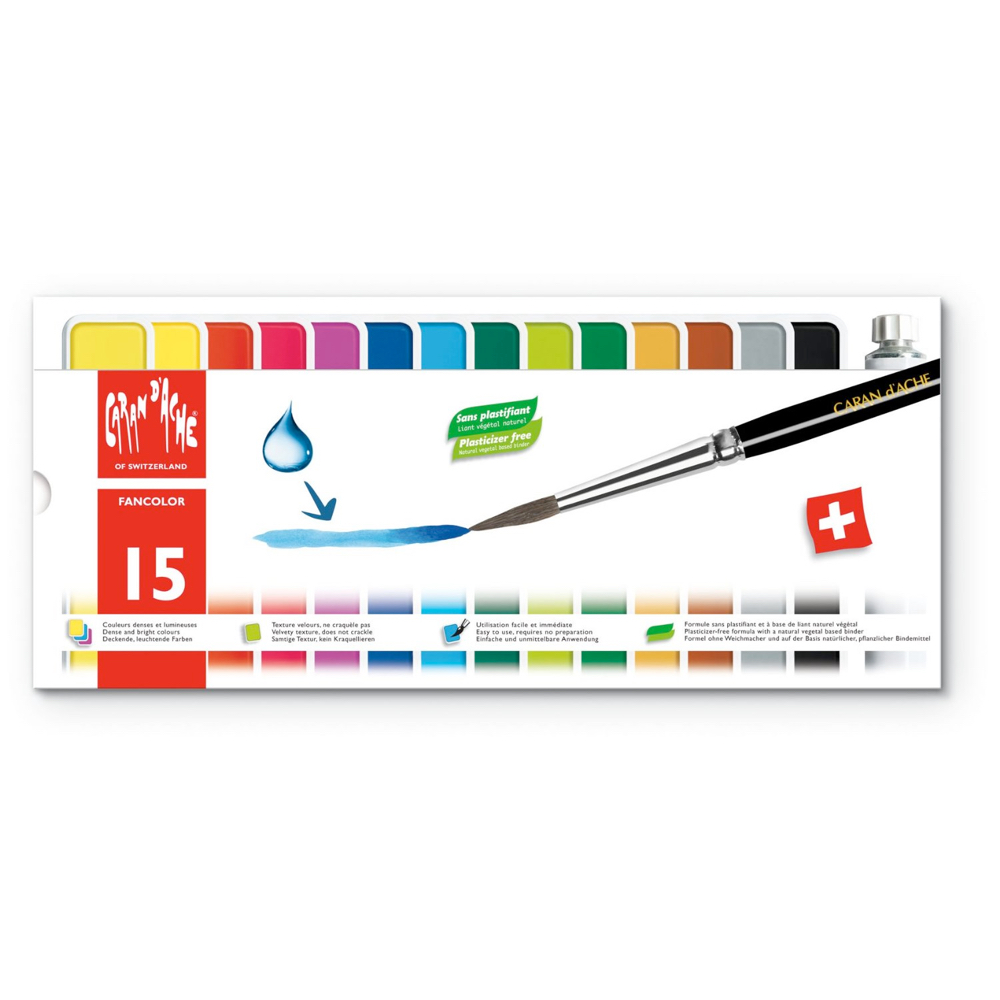 Caran D'ache Fancolor Gouache Set