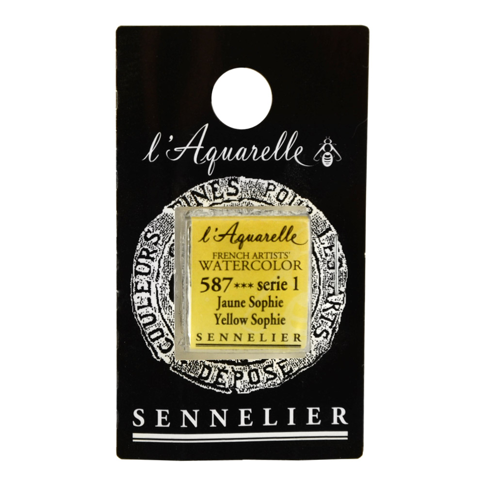 Sennelier French Wc Half Pan Yellow Sophie