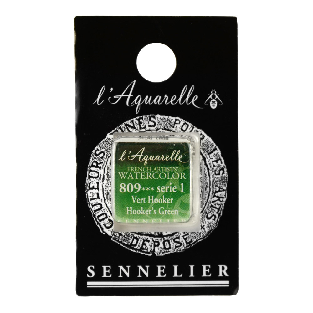 Sennelier French Wc Half Pan Hookers Green