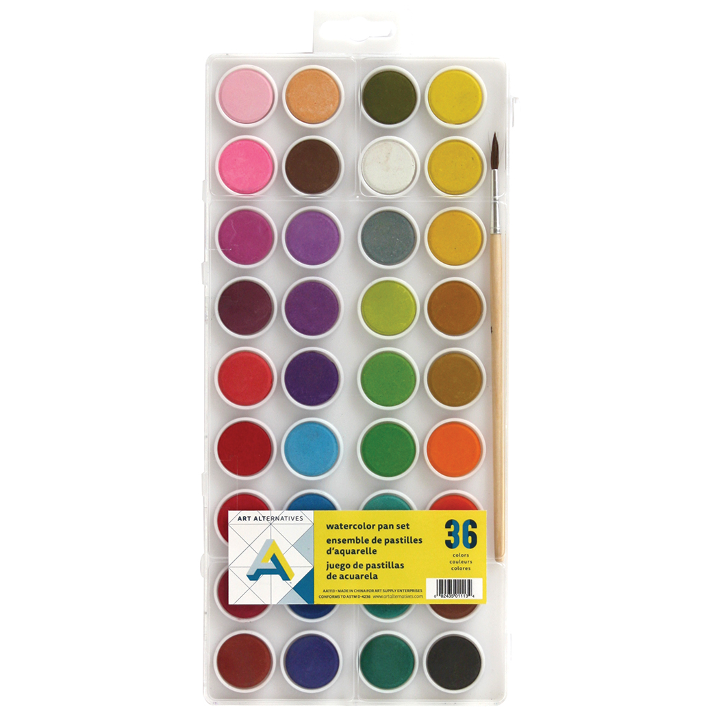 Aa Watercolor 36 Color Set