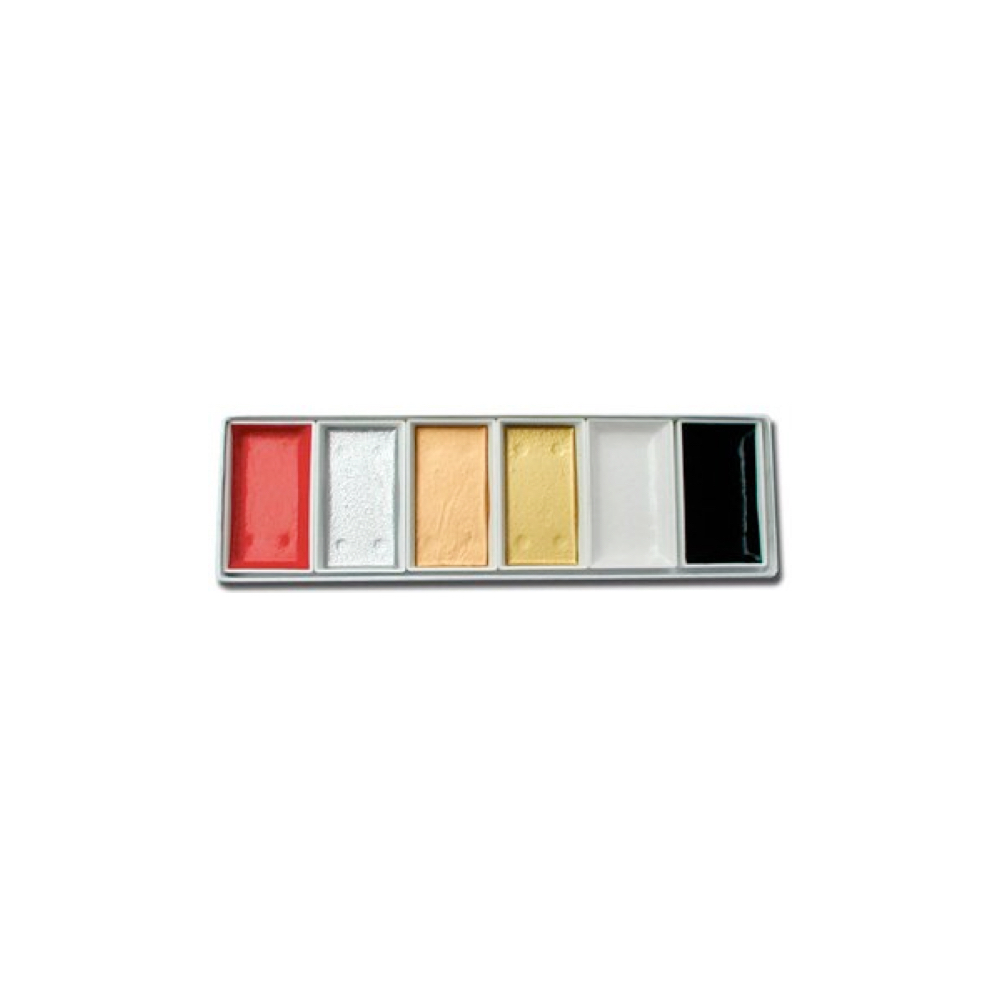 Yasutomo Metallic Watercolor Set/6