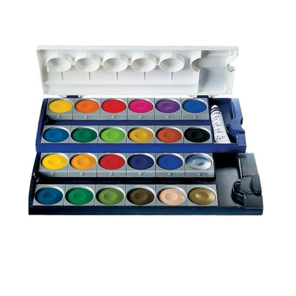 Pelikan 24 Color Opaque Watercolor Set