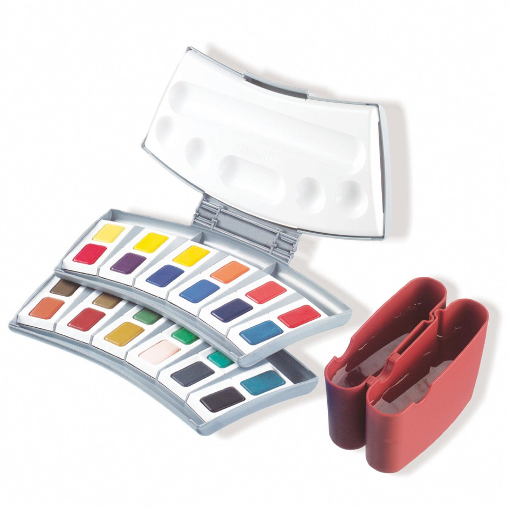Pelikan 24 Color Transparent Watercolor Set