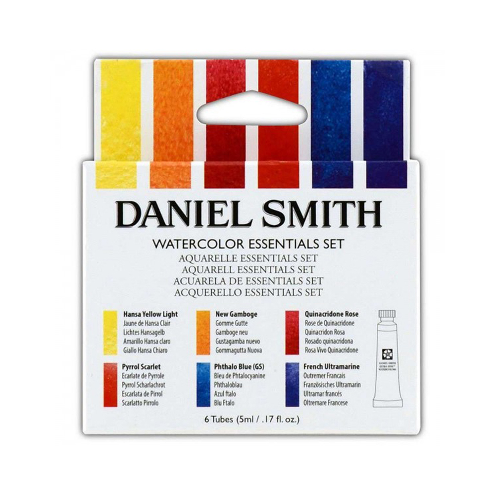 Daniel Smith W/C 5 Ml Essentials Set