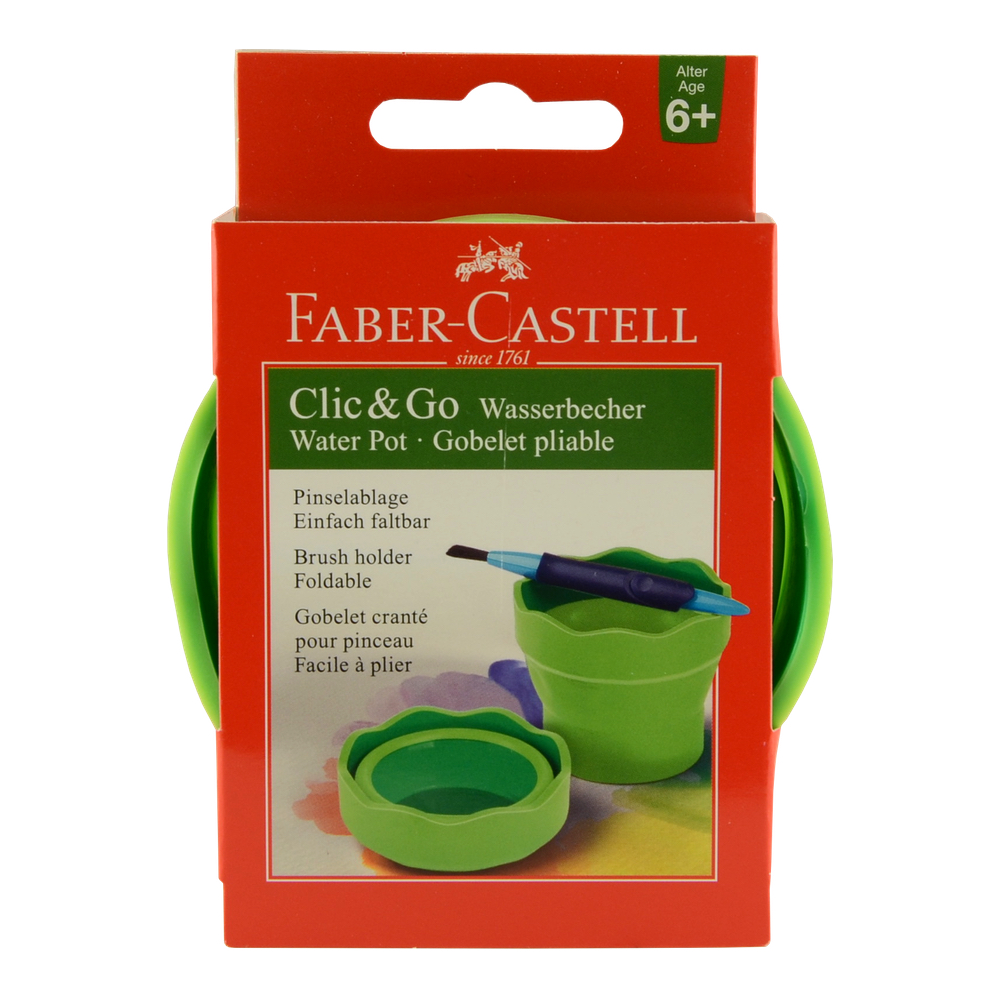 Faber-Castell Clic & Go Light Green Wtr Cup