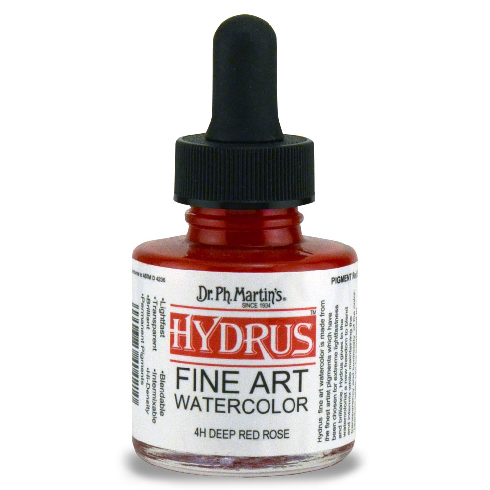 Dr Martins Hydrus Wc 1 Oz Deep Red Rose