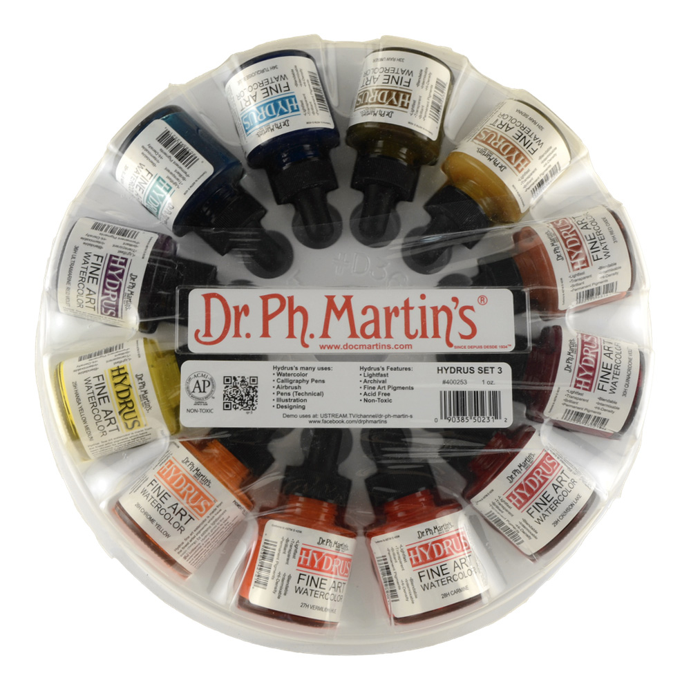 Dr Martins Hydrus Wc 1 Oz Set 3