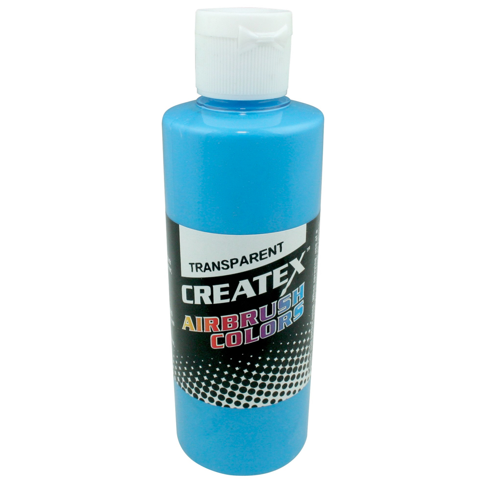 Createx 2 Oz Transparent Caribbean Blue