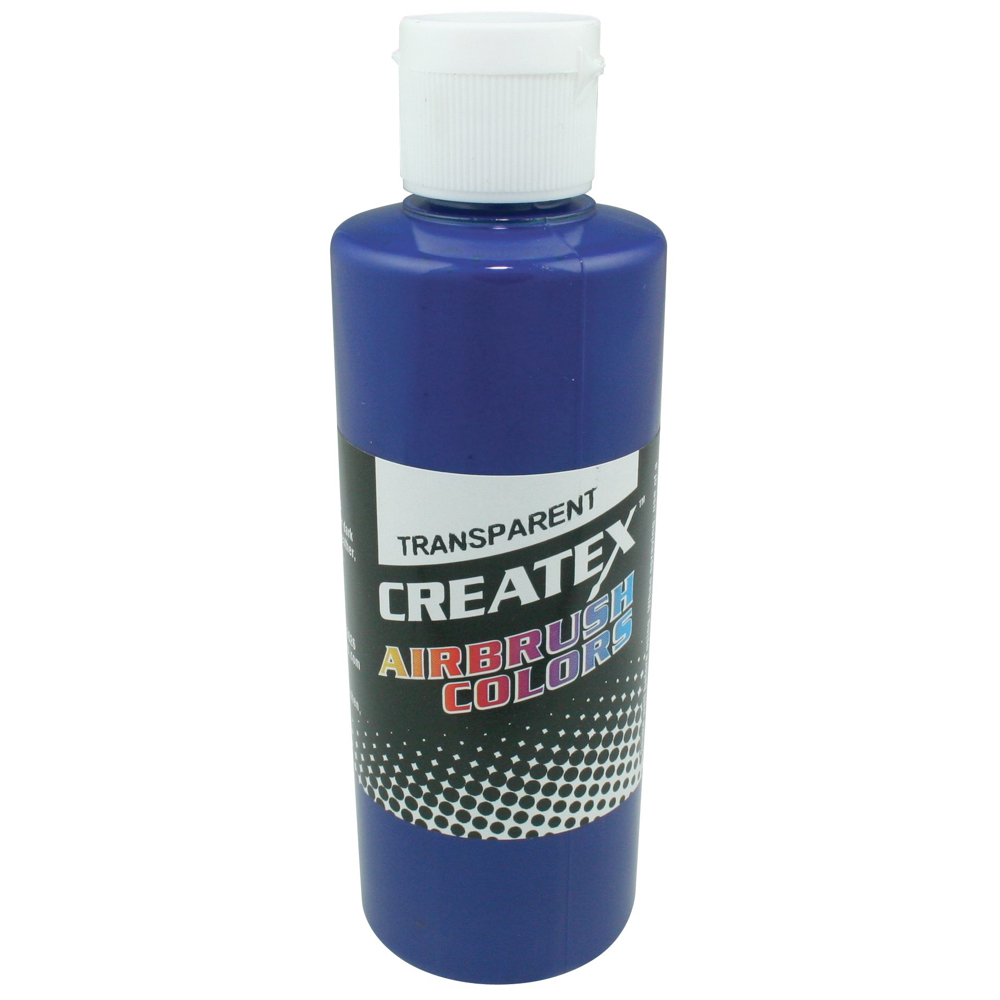Createx 4 Oz Transparent Brite Blue