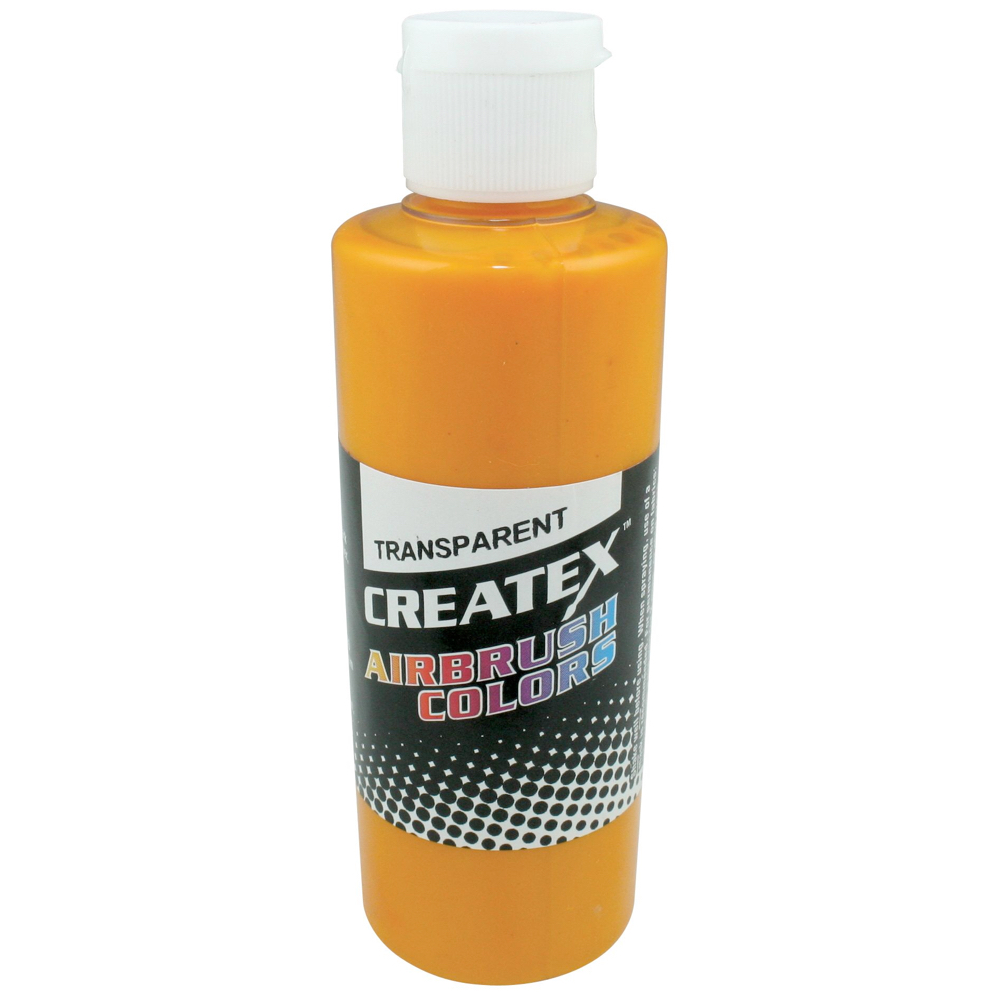 Createx 4 Oz Transparent Sunrise Yellow