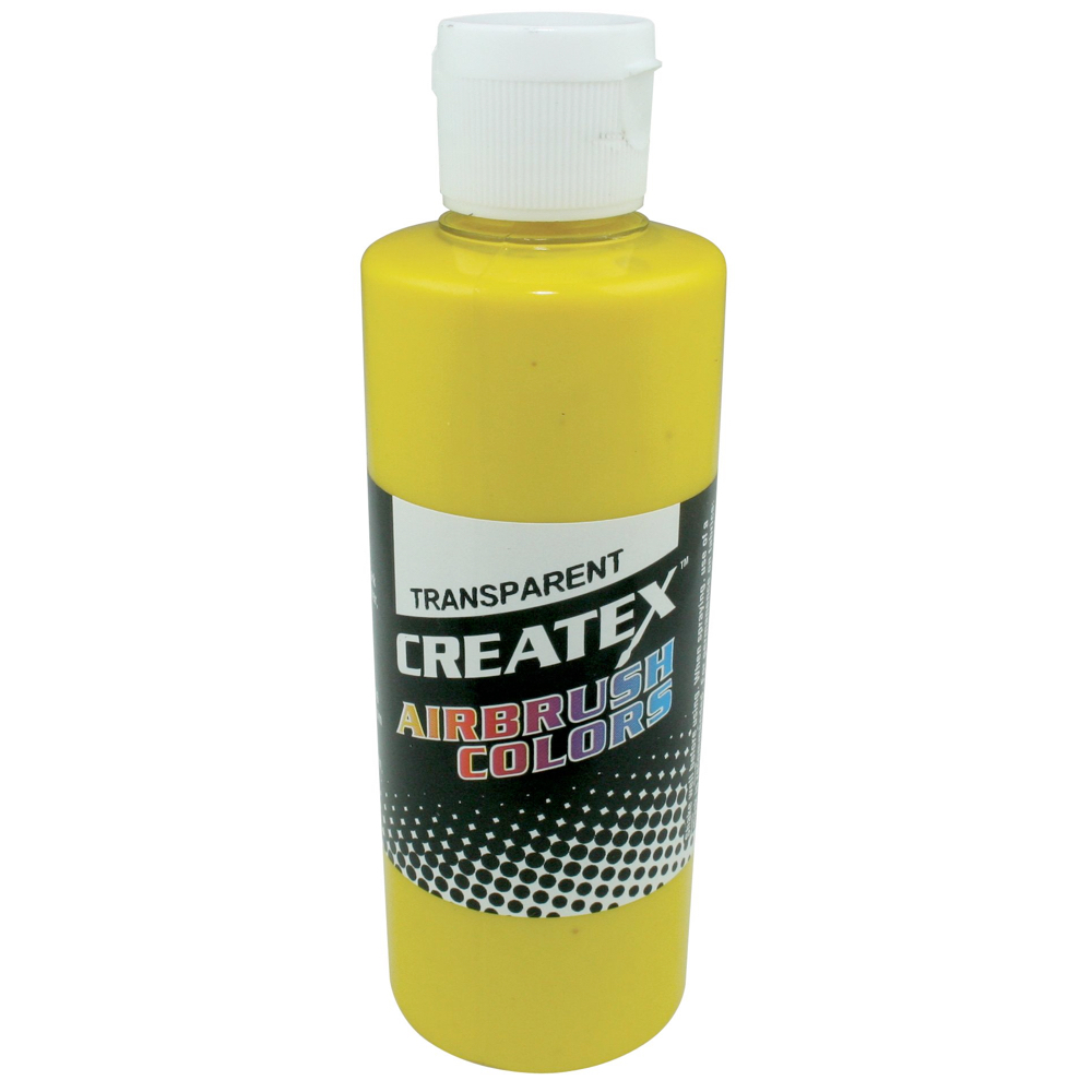Createx 2 Oz Transparent Brite Yellow