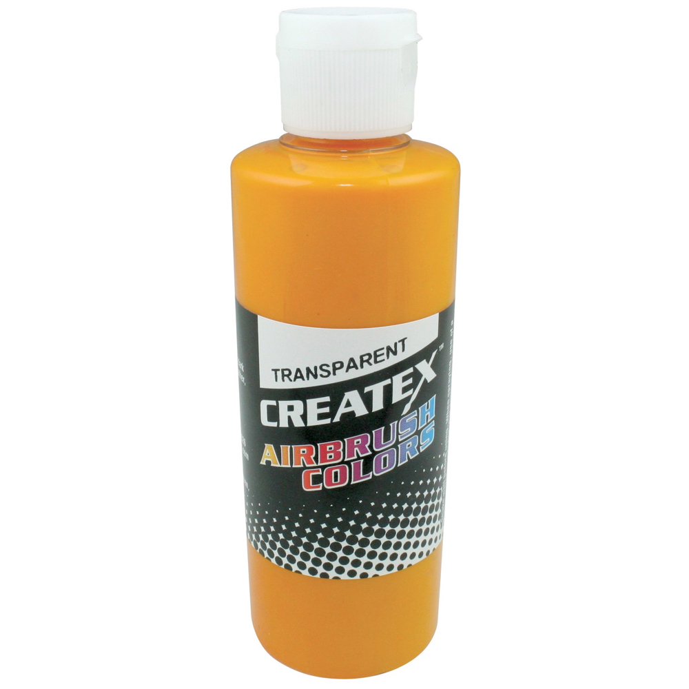 Createx 4 Oz Transparent Orange