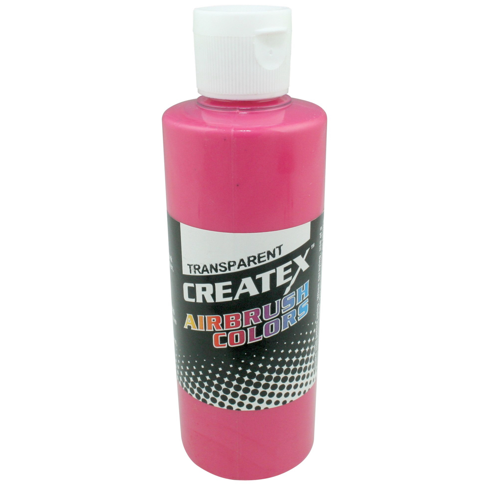 Createx 2 Oz Transparent Flamingo Pink