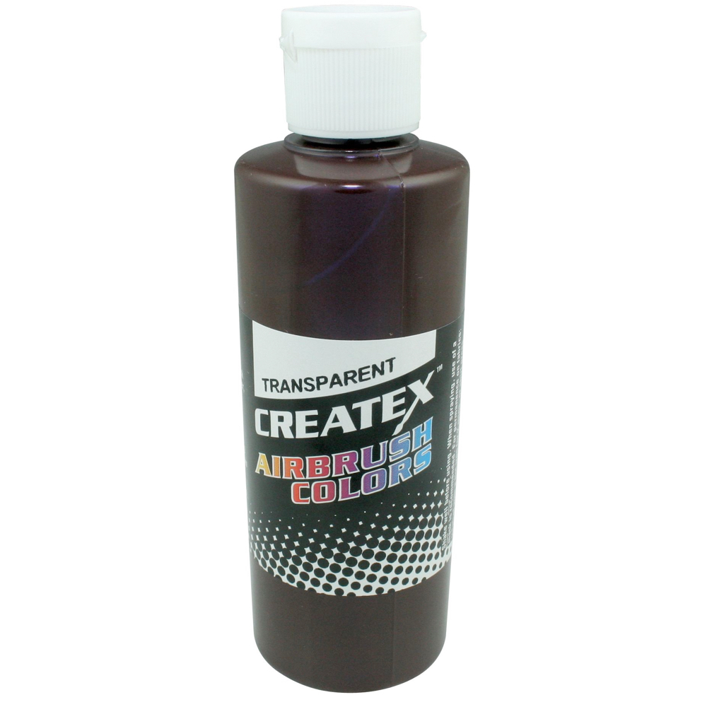 Createx 2 Oz Transparent Dark Brown