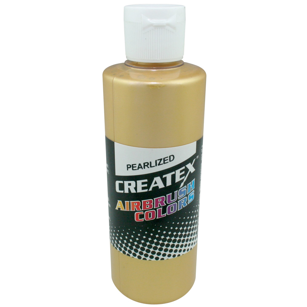 Createx 2 Oz Pearl Satin Gold