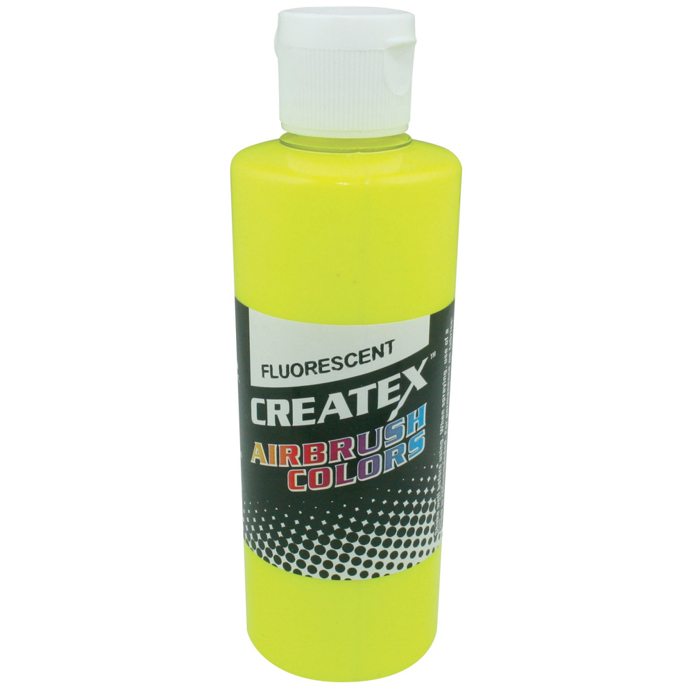 Createx 2 Oz Fluorescent Yellow