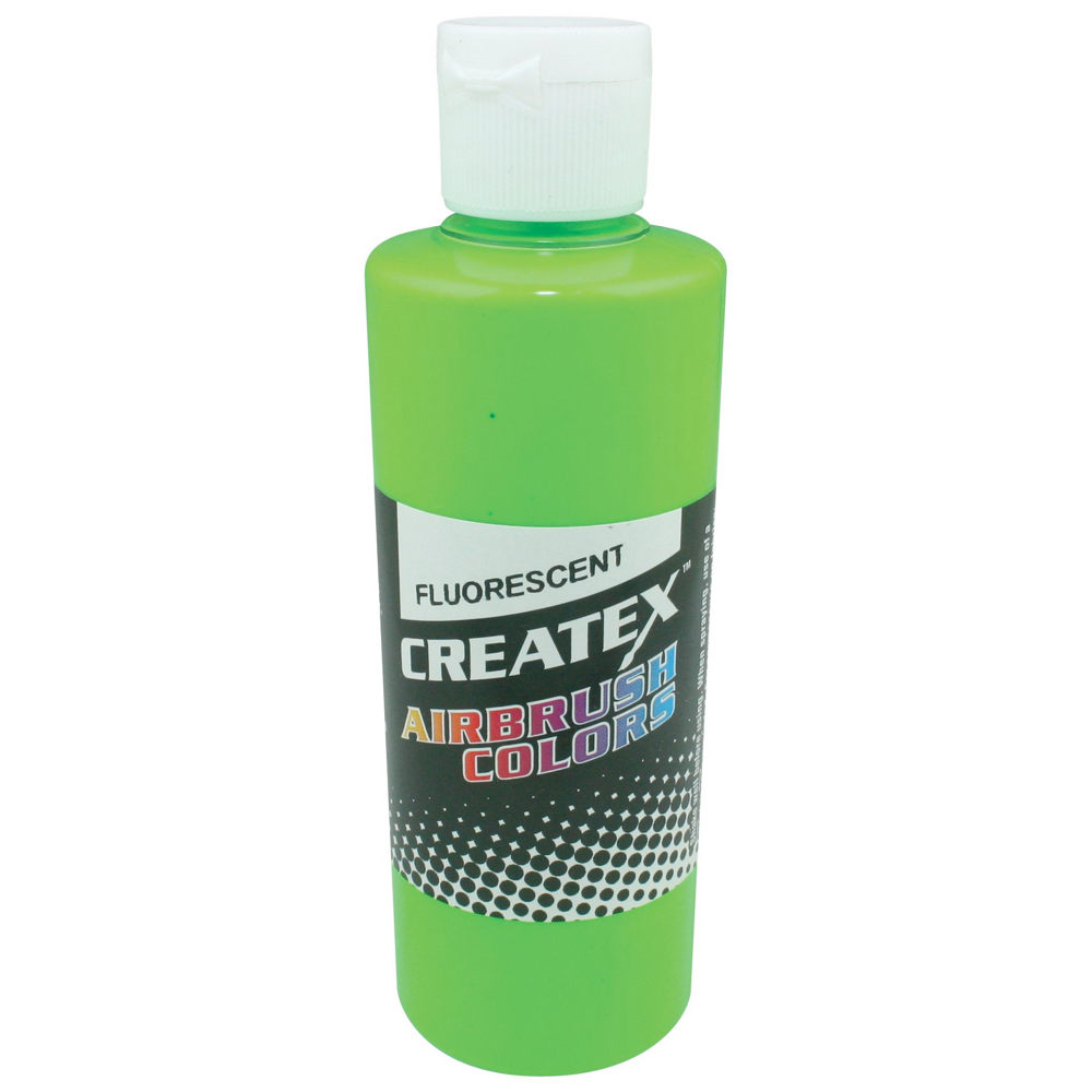 Createx 2 Oz Fluorescent Green