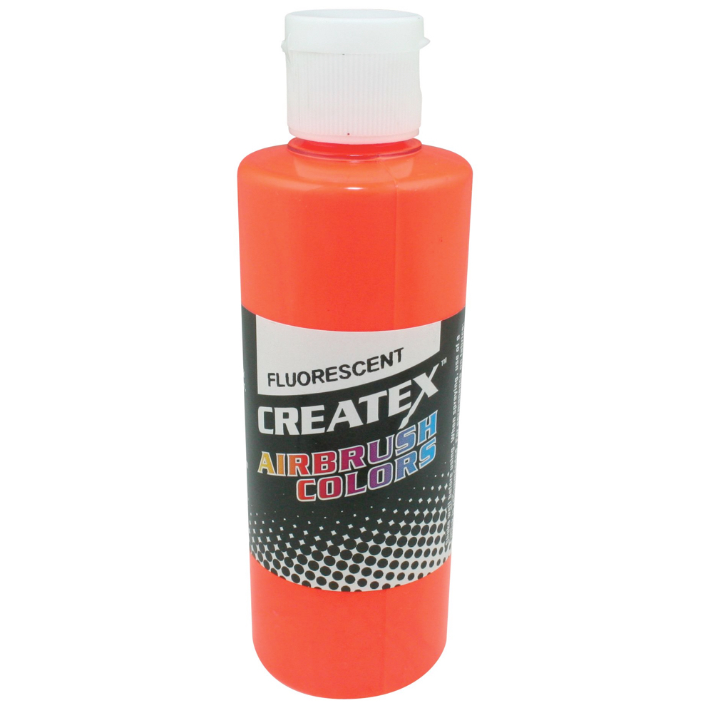 Createx 4 Oz Fluorescent Orange