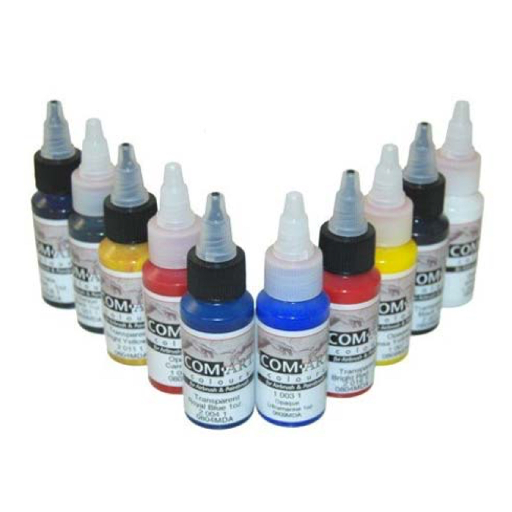 Com-Art Airbrush Color Sets