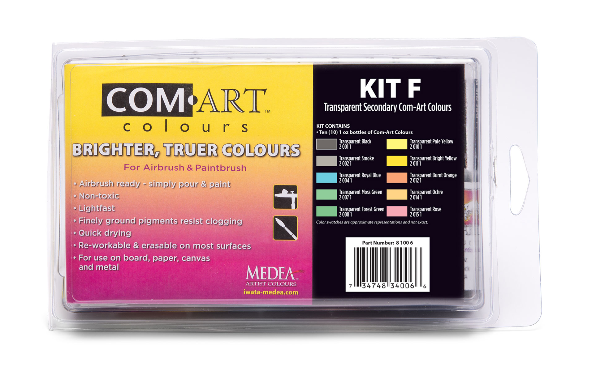 Medea Comart Transparent Secondary Kit F