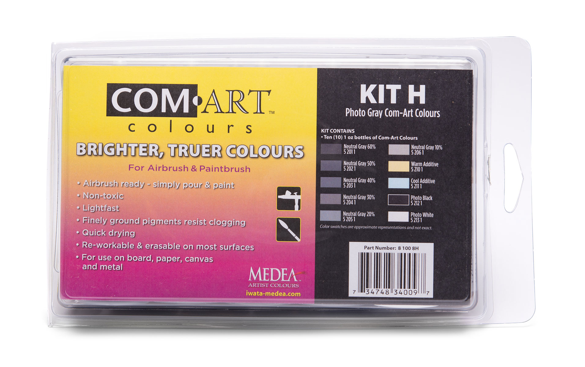 Medea Comart Photo Gray Combo Kit H