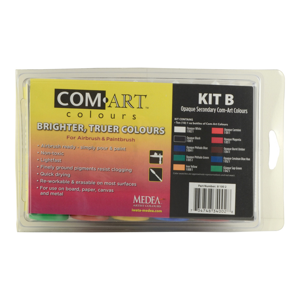 Comart Kit B Opaque Secondary Colors