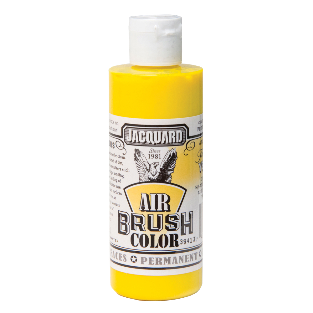 Jacquard Airbrush Color 4Oz Trans Yellow