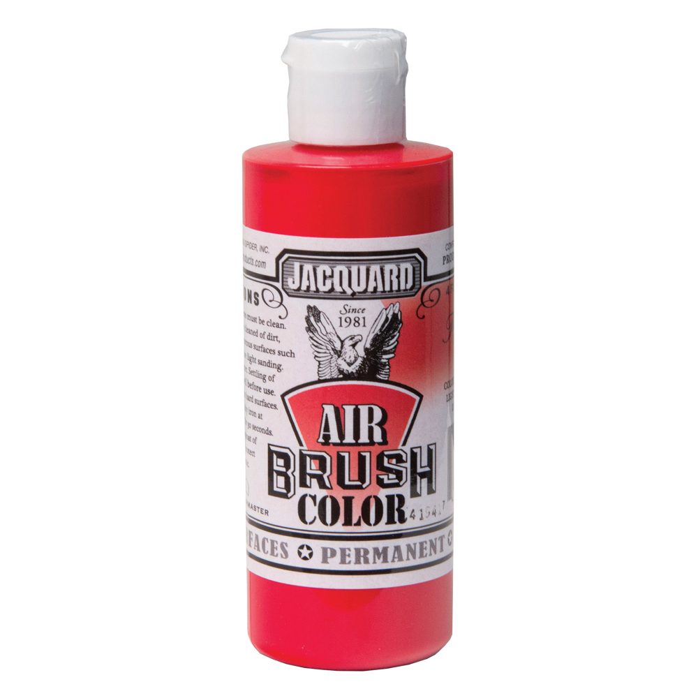 Jacquard Airbrush Color 4Oz Transparent Red