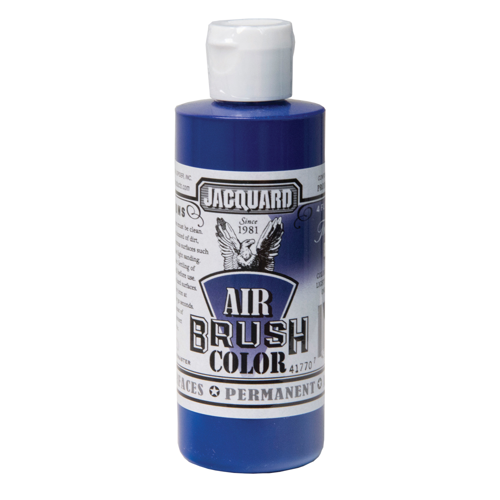 Jacquard Airbrush Color 4Oz Transparent Blue
