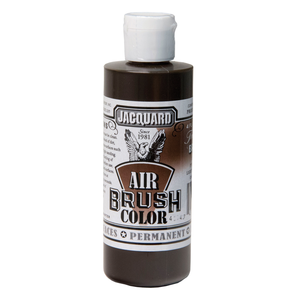 Jacquard Airbrush Color 4Oz Transparent Brown