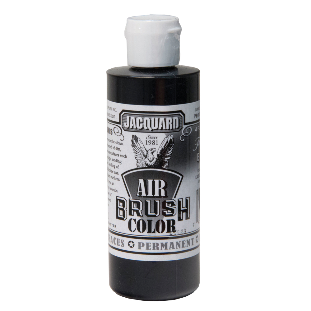 Jacquard Airbrush Color 4Oz Transparent Black
