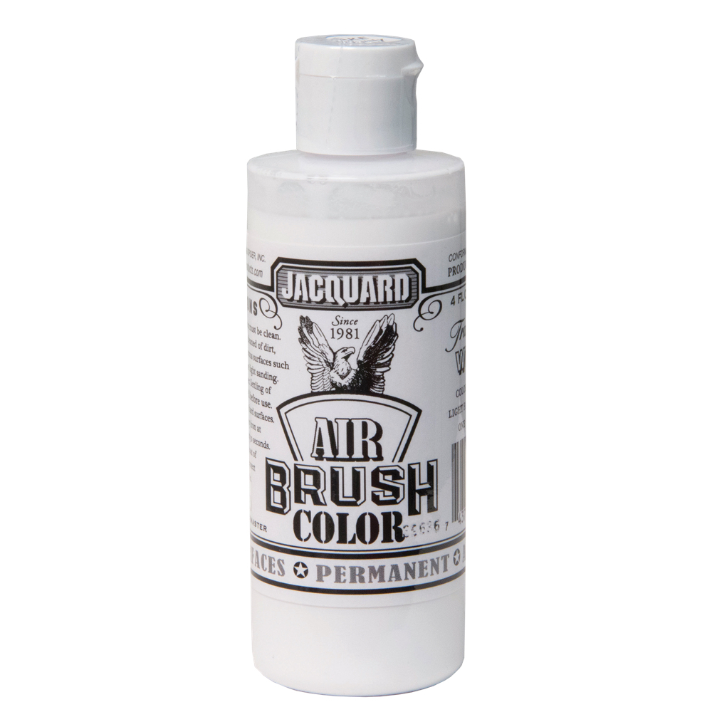 Jacquard Airbrush Color 4Oz Transparent White