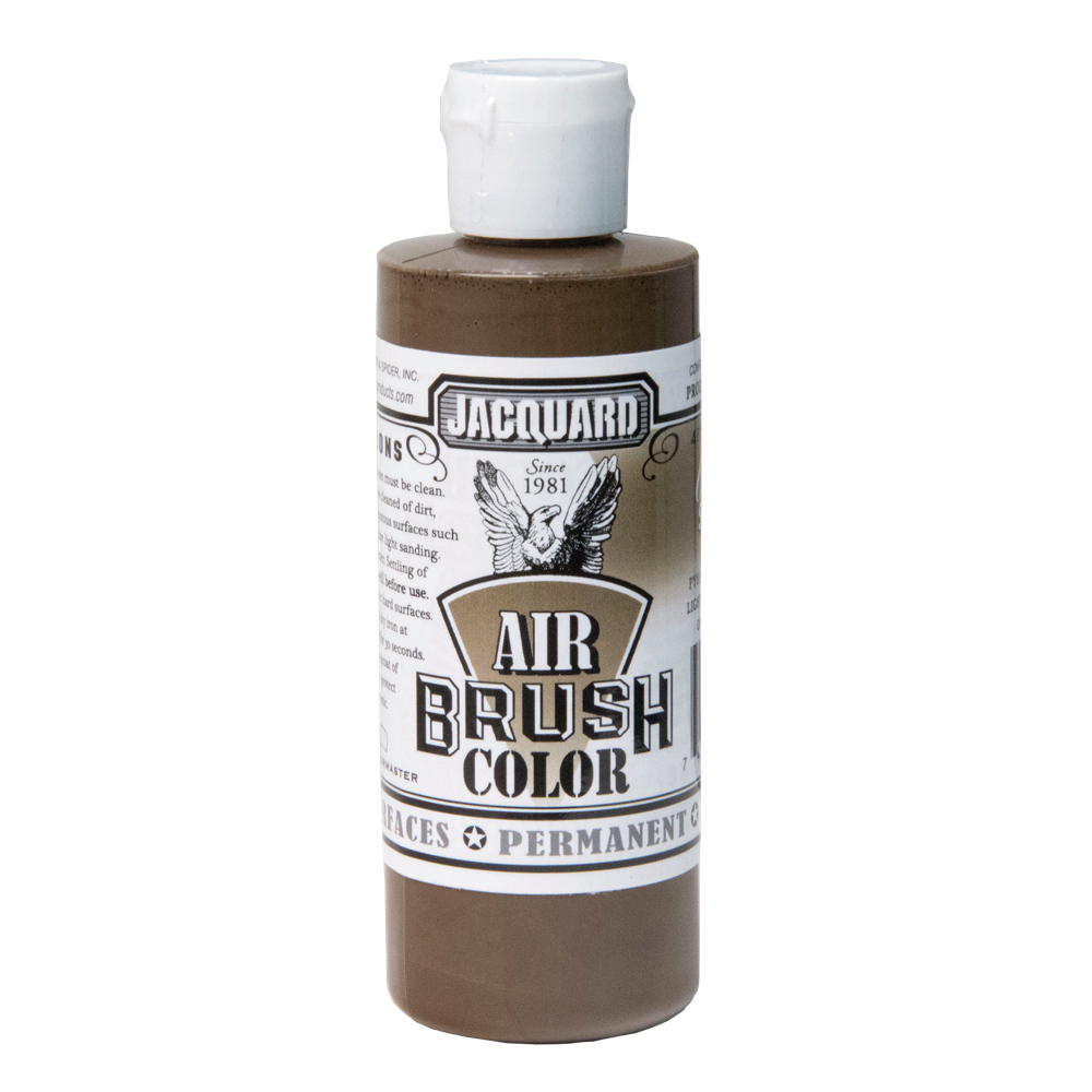 Jacquard Airbrush Color 4Oz Opaque Sepia