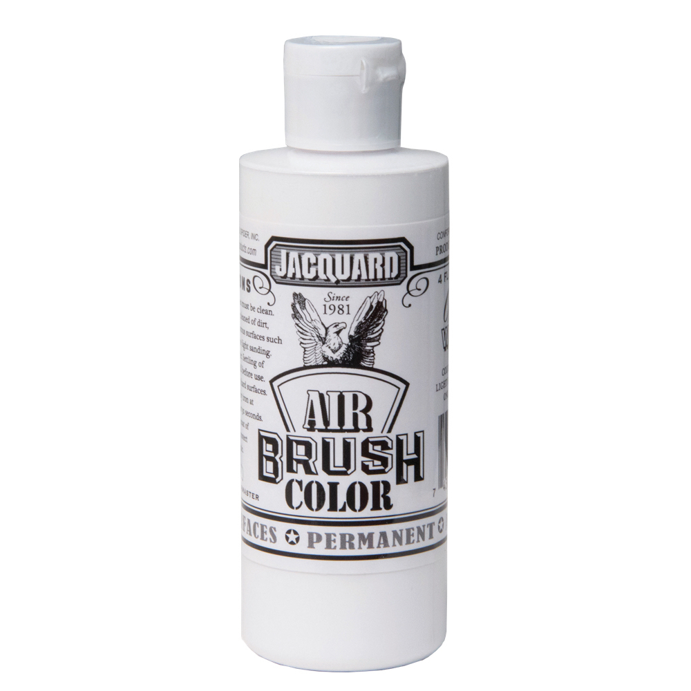 Jacquard Airbrush Color 4Oz Opaque White