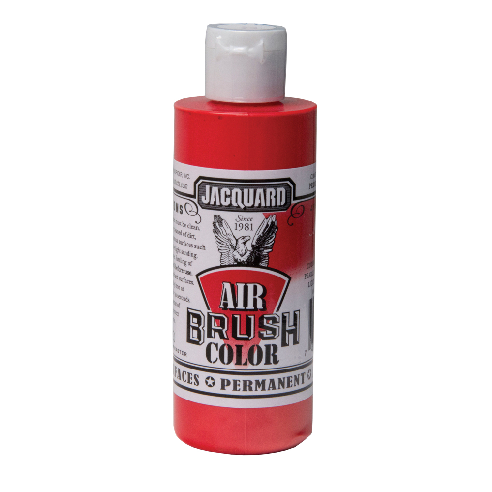Jacquard Airbrush Color 4Oz Metallic Red