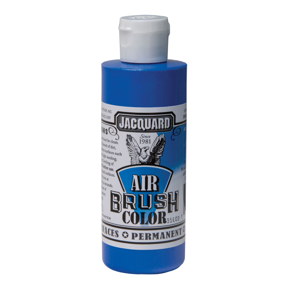 Jacquard Airbrush Color 4Oz Metallic Blue