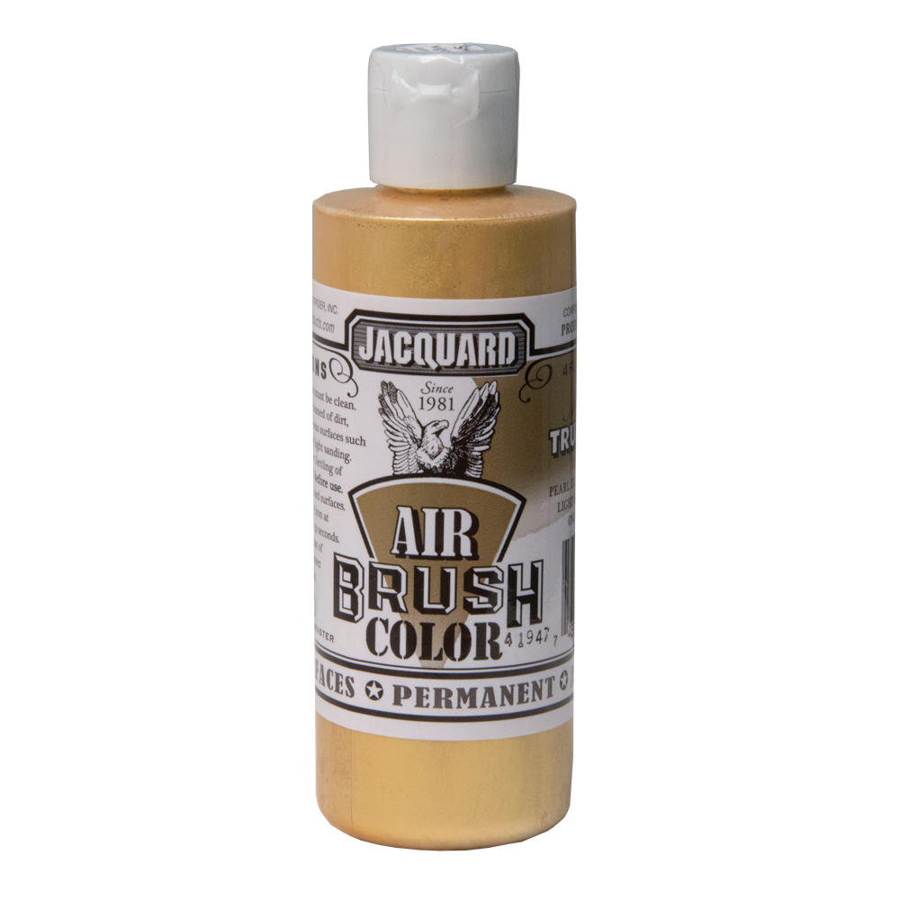 Jacquard Airbrush Color 4Oz Metal True Gold