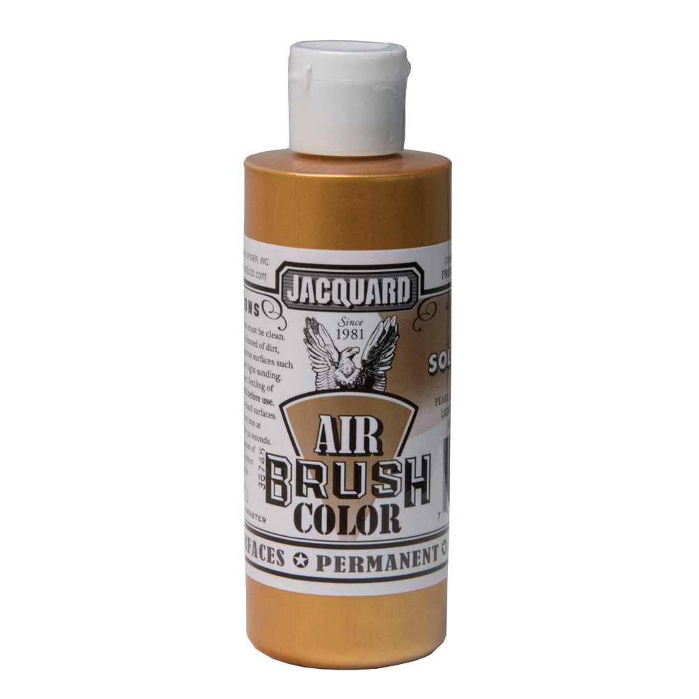 Jacquard Airbrush Color 4Oz Metal Solar Gold