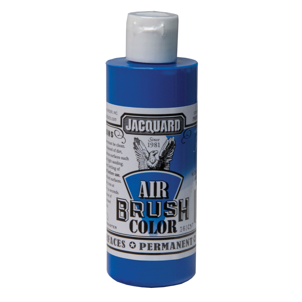 Jacquard Airbrush Color 4Oz Fluorescent Blue
