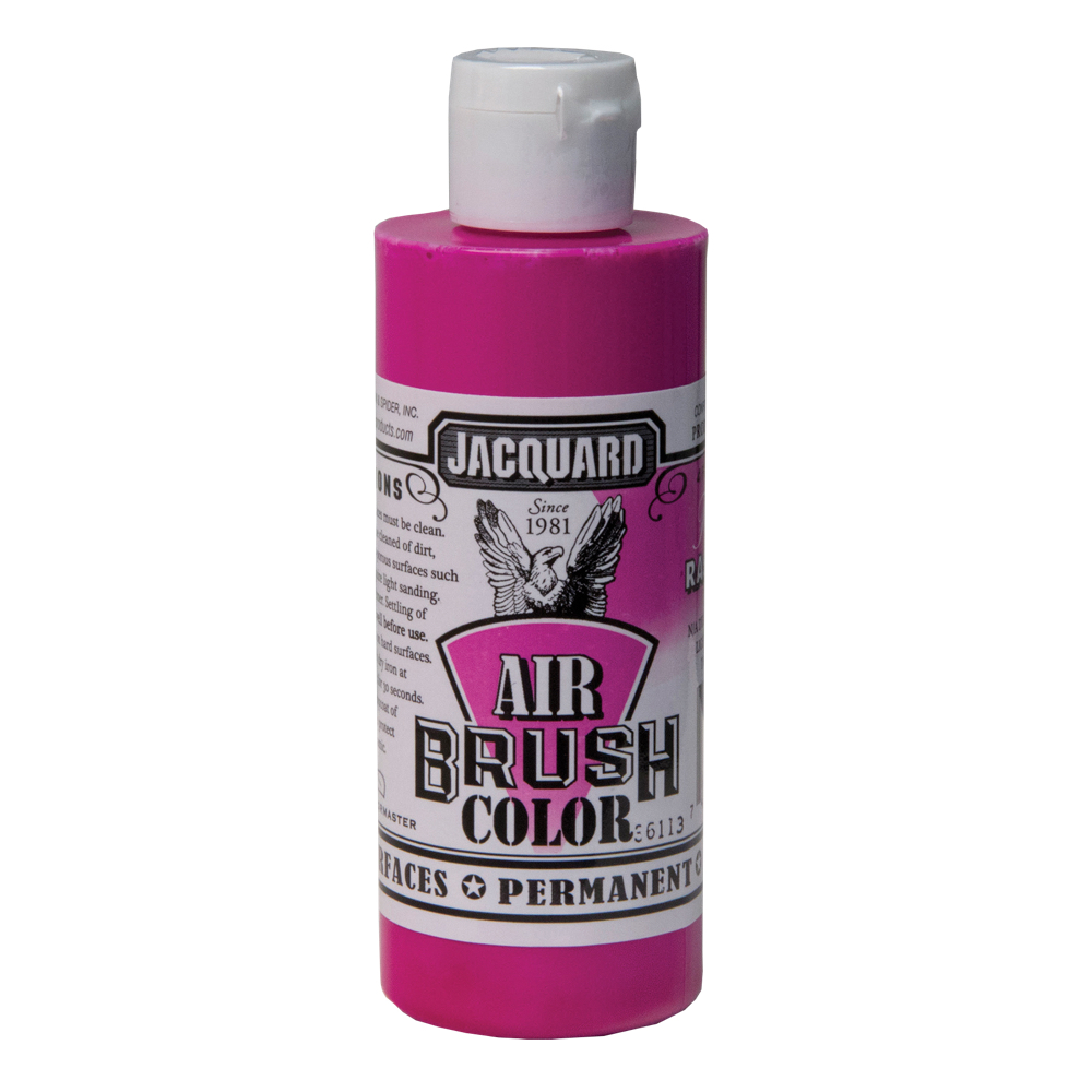 Jacquard Airbrush Color 4Oz Fluor Raspberry