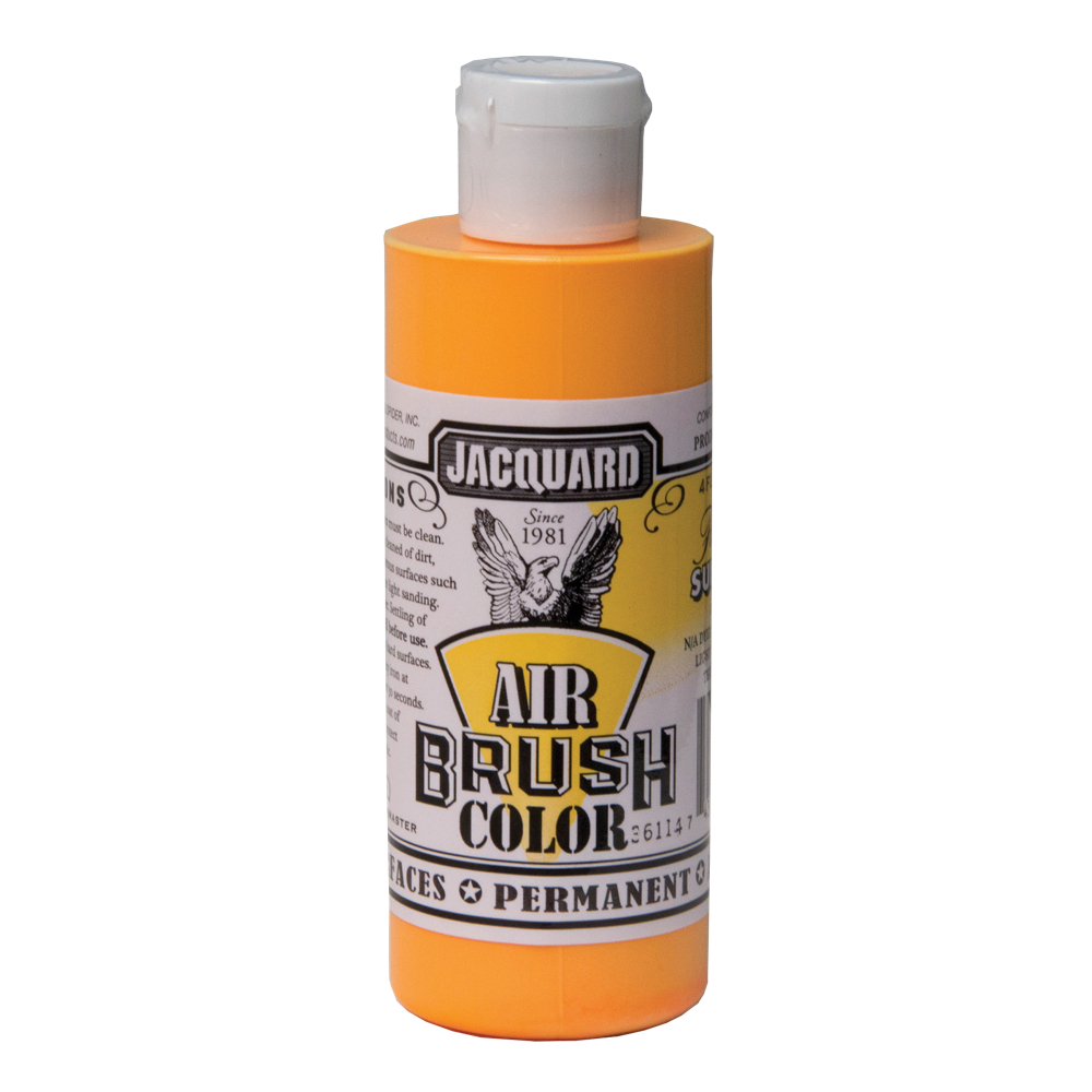 Jacquard Airbrush Color 4Oz Fluor Sunburst
