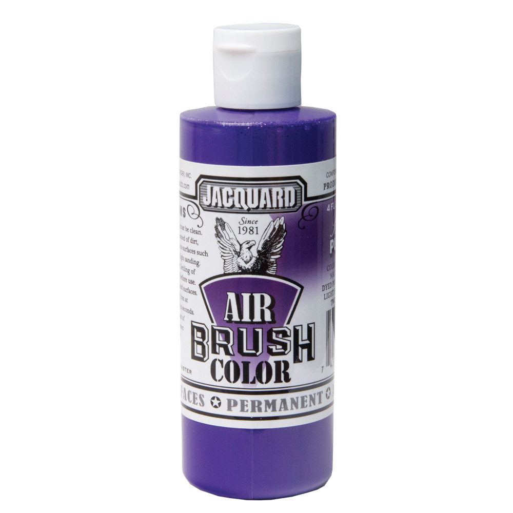 Jacquard Airbrush Color 4Oz Bright Purple